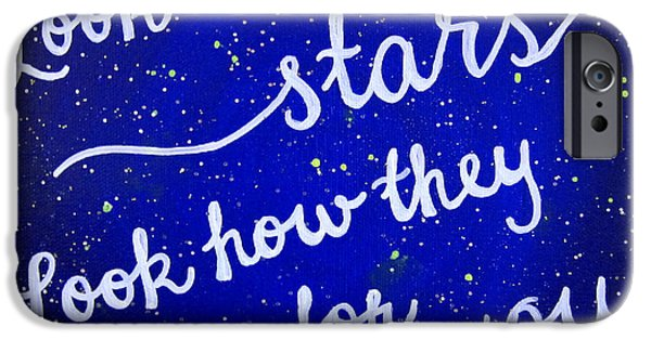 11x14 Look At The Stars IPhone 6s Case by Michelle Eshleman