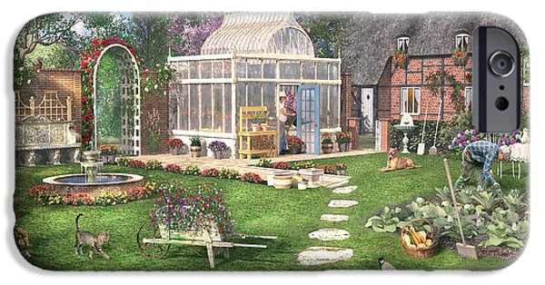The Cottage Garden IPhone 6s Case by Dominic Davison