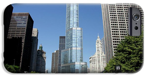 Illinois, Chicago IPhone Case by Cindy Miller Hopkins