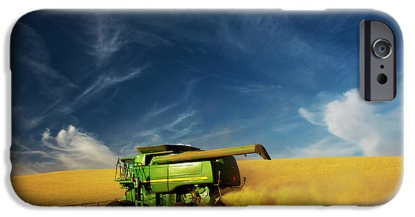 North America Washington Palouse IPhone Case by Terry Eggers