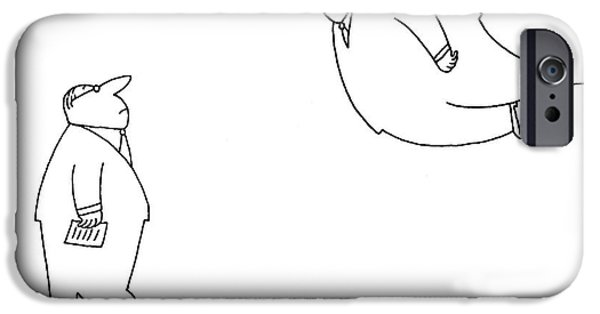 Untitled IPhone Case by Charles Barsotti