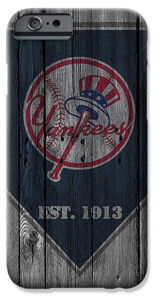 New York Yankees IPhone Case by Joe Hamilton