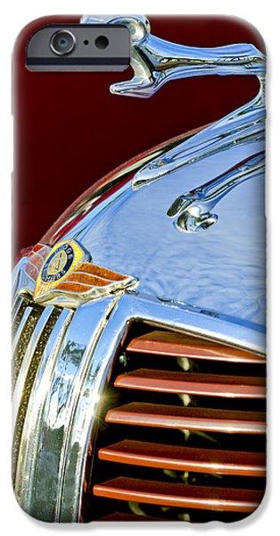 1938 Dodge Ram Hood Ornament 3 IPhone Case by Jill Reger