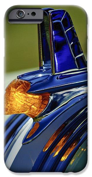 1953 Pontiac Hood Ornament 3 IPhone Case by Jill Reger