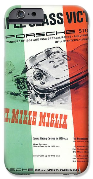 1954 Xxi Mille Miglia IPhone Case by Georgia Fowler