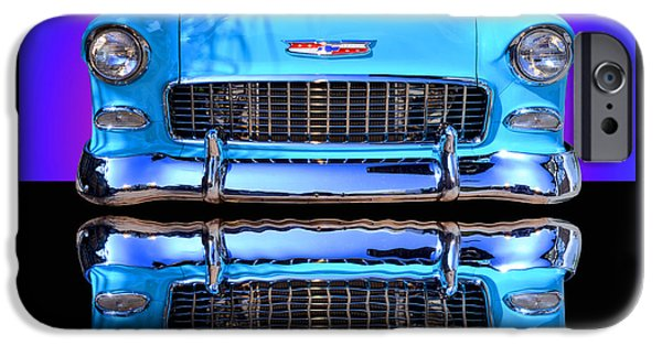 1955 Chevy Bel Air IPhone Case by Jim Carrell
