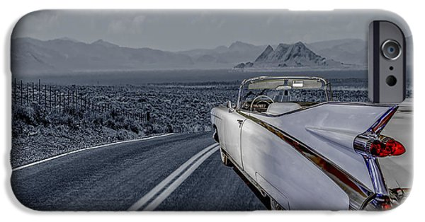 1959 Cadillac Eldorado Cool Night IPhone Case by LeeAnn McLaneGoetz McLaneGoetzStudioLLCcom