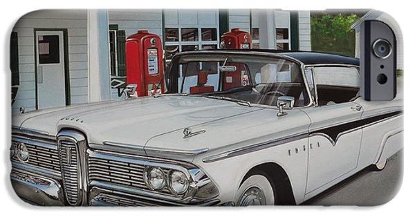 1959 Edsel Ranger IPhone Case by Paul Kuras