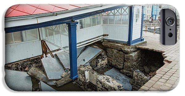Aberystwyth Storm Damage IPhone Case by Ashley Cooper