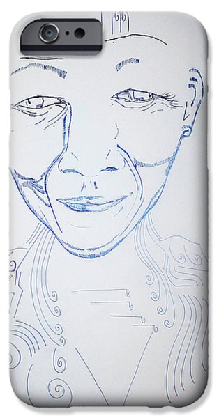 Angel Madiba - Nelson Mandela IPhone Case by Gloria Ssali