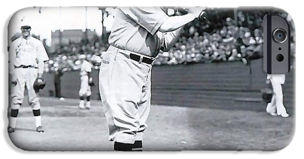 Babe Ruth IPhone 6s Case by Marvin Blaine
