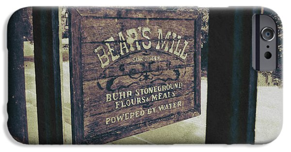 Bear's Mill IPhone Case by Natasha Marco