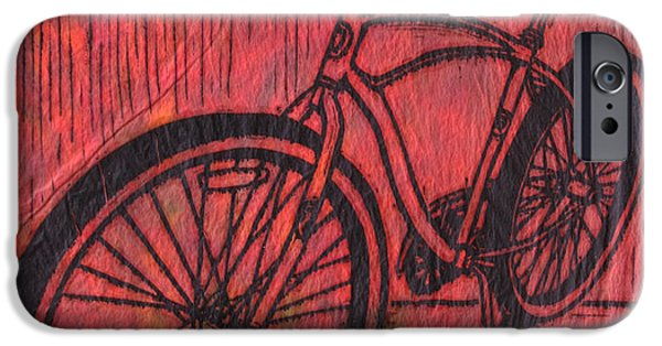 Bike 6 IPhone 6s Case by William Cauthern