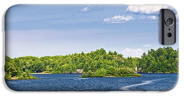 Boating On Lake IPhone Case by Elena Elisseeva