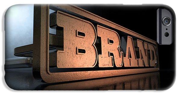 Branding Brand Concept IPhone Case by Allan Swart