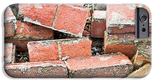 Bricks IPhone Case by Tom Gowanlock