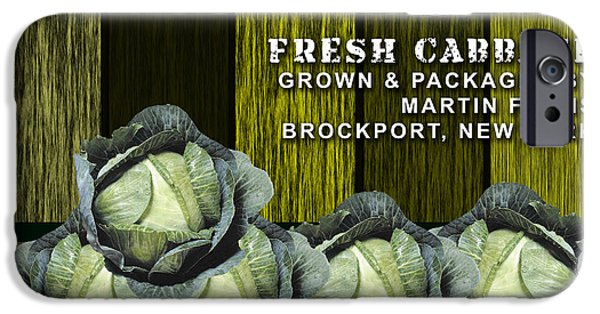 Cabbage Farm IPhone 6s Case by Marvin Blaine