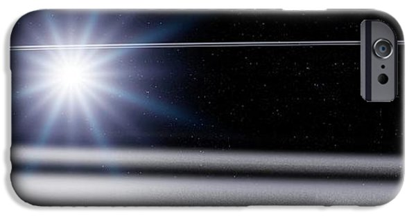 Chariklo Minor Planet And Rings IPhone 6s Case by Detlev Van Ravenswaay