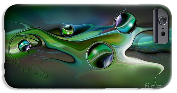 composition XIV IPhone Case by Franziskus Pfleghart
