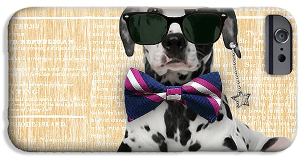 Dalmatian Bowtie Collection IPhone 6s Case by Marvin Blaine