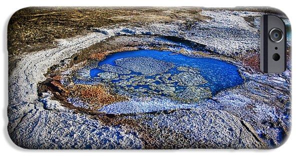 Dead Sea Sink Holes IPhone Case by Dan Yeger