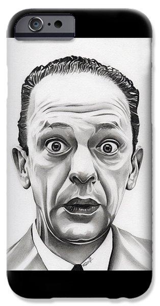 Deputy Barney Fife IPhone Case by Fred Larucci