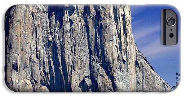 El Capitan Yosemite National Park IPhone Case by Bob and Nadine Johnston