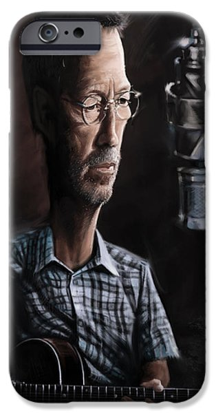 Eric Clapton IPhone 6s Case by Andre Koekemoer