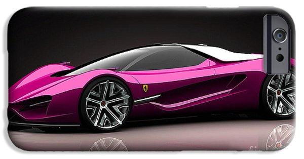 Ferrari IPhone Case by Marvin Blaine
