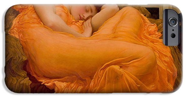Flaming June IPhone Case by Celestial Images