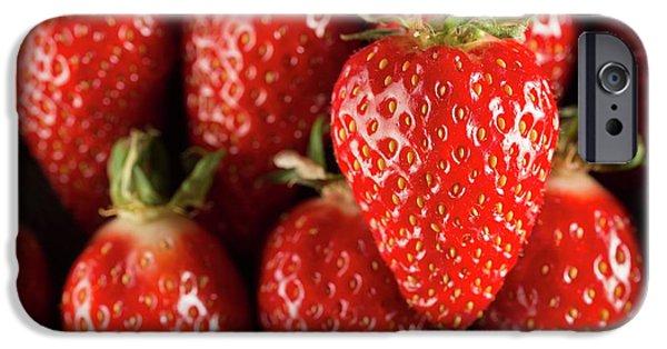 Gariguette Strawberries IPhone 6s Case by Aberration Films Ltd