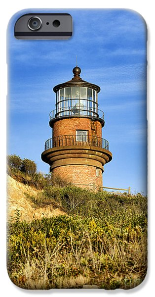 Gay Head Lighthouse IPhone Case by John Greim