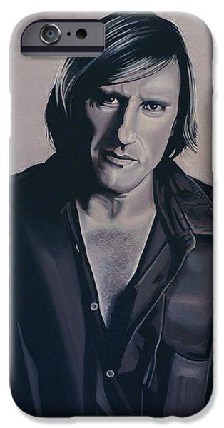 Gerard Depardieu IPhone Case by Paul Meijering