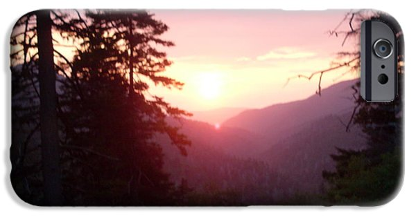 Great Smokey Mountain IPhone Case by Celestial Images