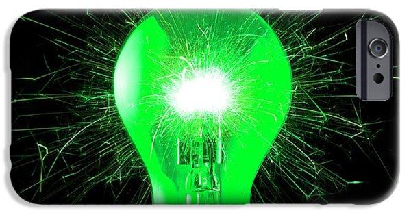 Green Energy IPhone Case by Victor De Schwanberg