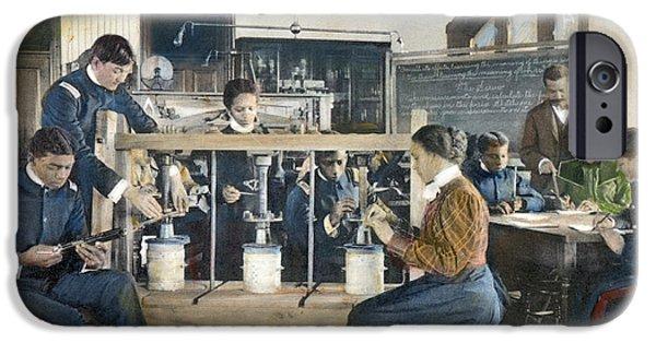 Hampton Institute, 1899 IPhone Case by Granger