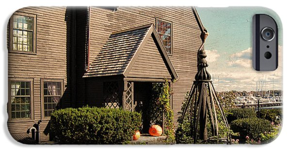 House Of The Seven Gables IPhone Case by Lourry Legarde