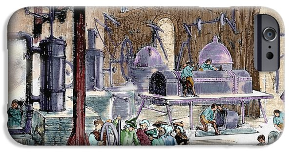 Industrial Revolution IPhone Case by Prisma Archivo