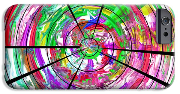 Inside Dissociative Identity Disorder IPhone Case by Sir Josef Social Critic - ART