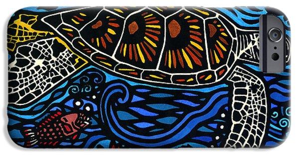 Kahaluu Honu IPhone Case by Lisa Greig