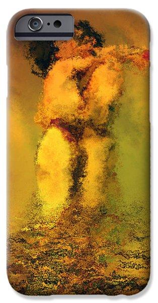 Lovers IPhone Case by Kurt Van Wagner