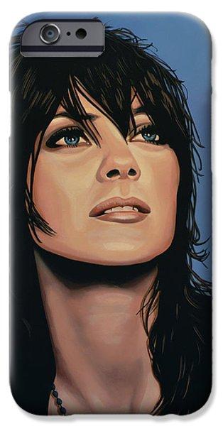 Marion Cotillard IPhone Case by Paul Meijering