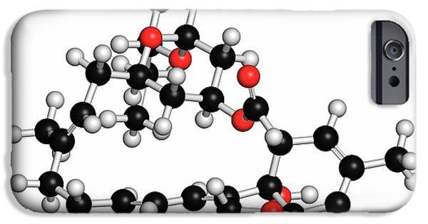Milbemycin Oxime Antiparasitic Drug IPhone Case by Molekuul