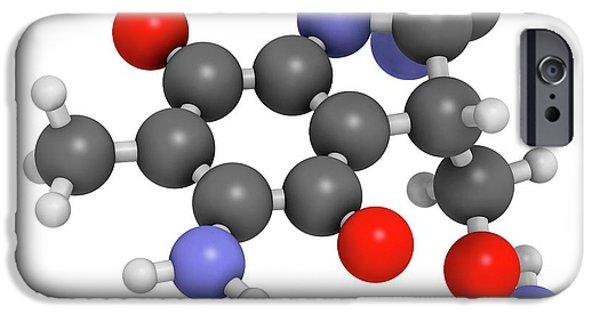 Mitomycin C Cancer Drug Molecule IPhone Case by Molekuul