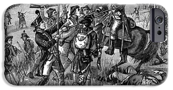 Mutiny: Anthony Wayne 1781 IPhone Case by Granger