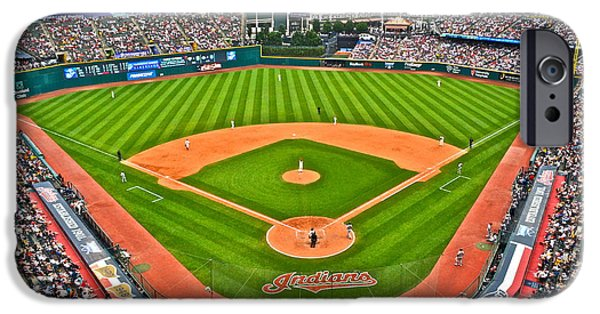 Progressive Field IPhone Case by Frozen in Time Fine Art Photography