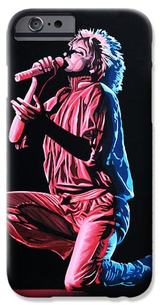 Rod Stewart IPhone Case by Paul Meijering
