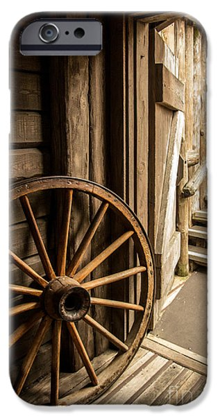 Rural Wertern IPhone Case by Carlos Caetano
