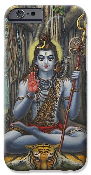 Shiva IPhone Case by Vrindavan Das