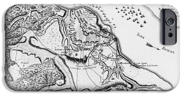 Siege Of Yorktown, 1781 IPhone Case by Granger